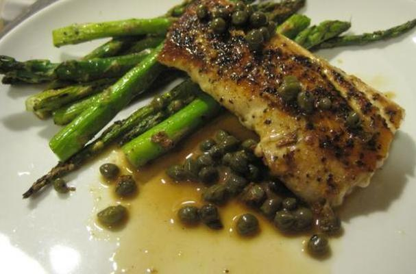 Mahi-Mahi with Lemon Caper Sauce