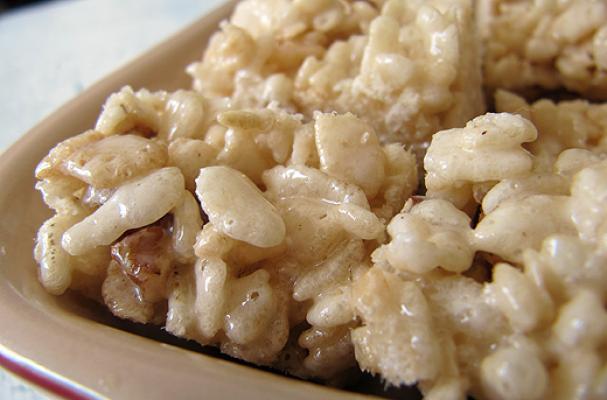 Sugar And Diabetes >> Foodista | Maple Brown Sugar Rice Krispie Treats