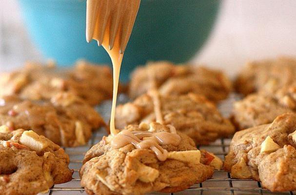 Foodista | Maple Glazed Apple Cookies