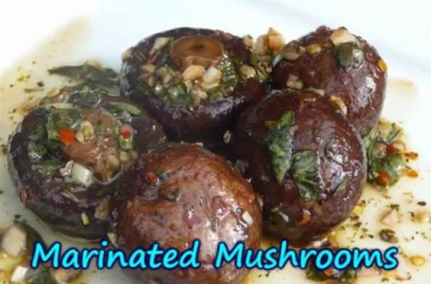 marinated japanese mushrooms recipes dishmaps marinated pine mushrooms ...