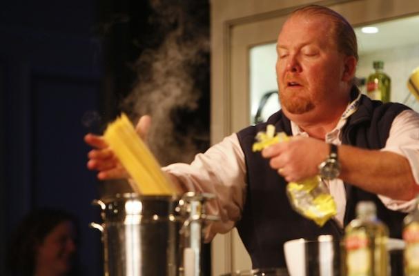 Mario Batali Reveals Secrets to a Succesful Restaurant