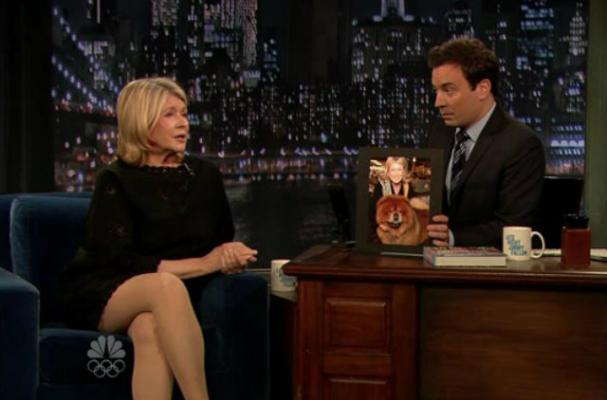 Jimmy Fallon Plays Drinking Games with Martha Stewart