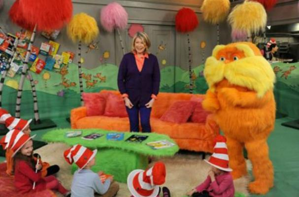Martha Stewart Makes Green Eggs and Ham with The Lorax
