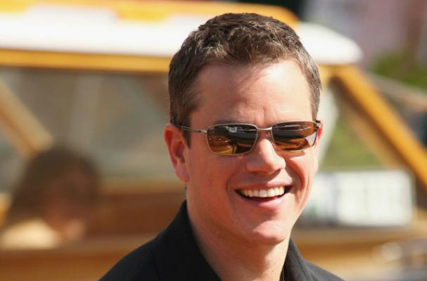 Matt Damon Can't Watch a Movie Without Popcorn
