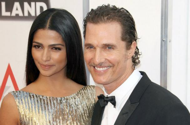 Matthew McConaughey and Camila Alves Serve Brazilian Food at Wedding