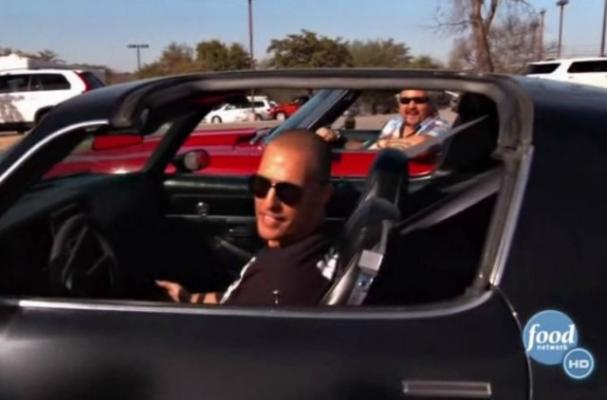 Guy Fieri Teams with Matthew McConaughey for 'Diners, Drive-Ins and Dives'