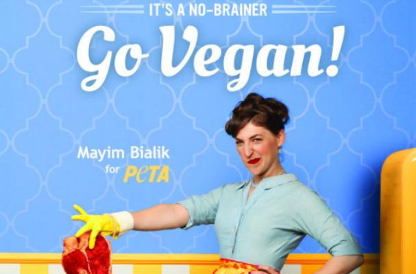 Mayim Bialik Trashes Meat for PETA