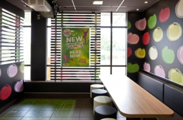 McDonald's Augmented Reality Play Zones