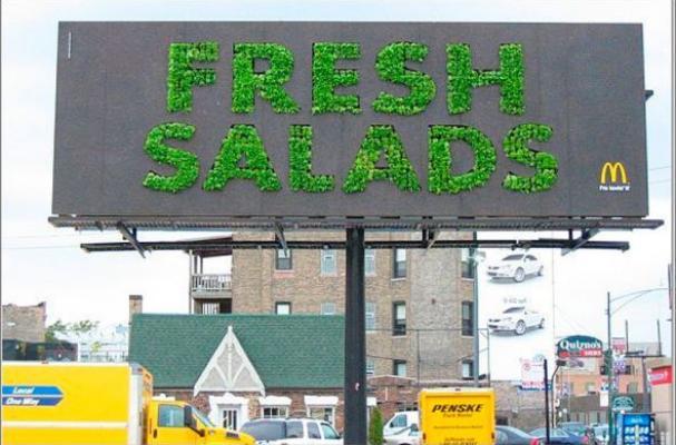 edible billboards