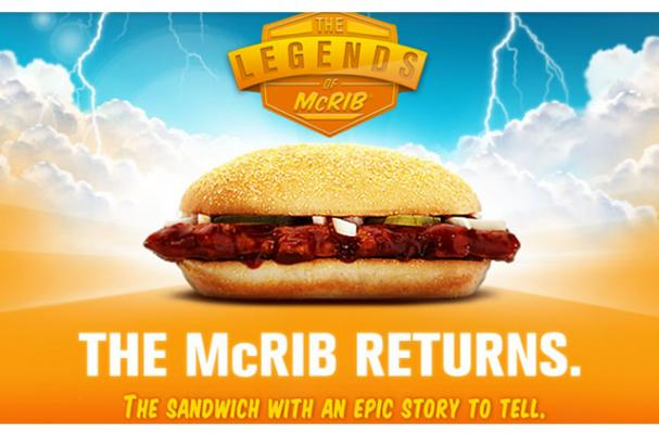 McRIB Returns