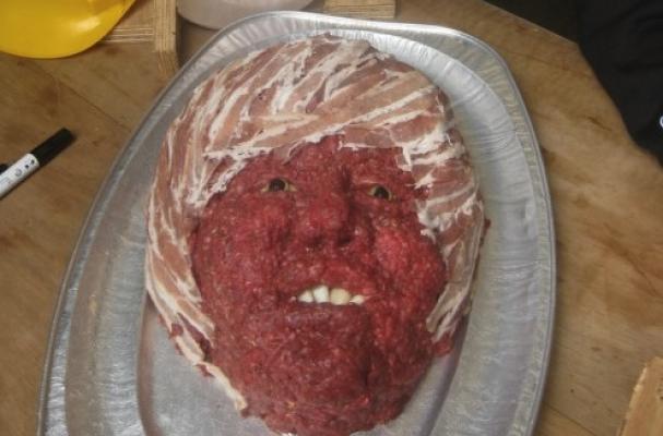 Justin Bieber Meat Portrait