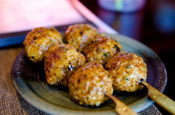 meat ball skewers