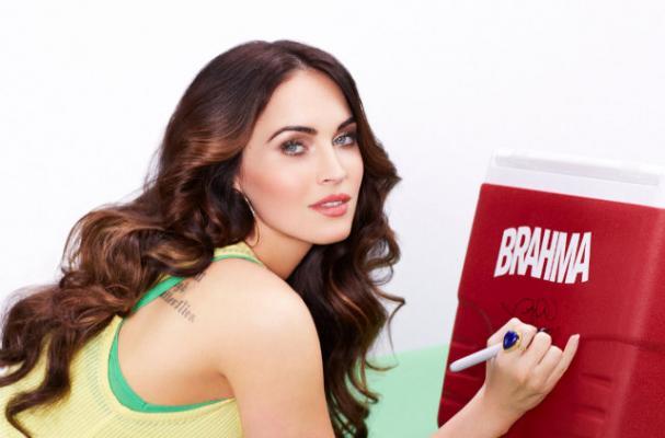 Megan Fox Stars in Brazilian Beer Commercial