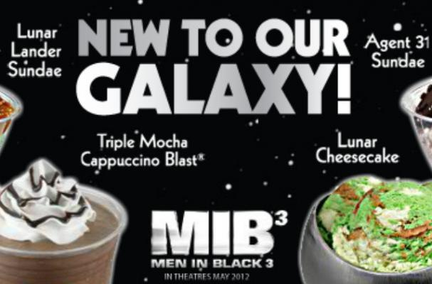Baskin Robbins Launches 'Men in Black' Ice Cream