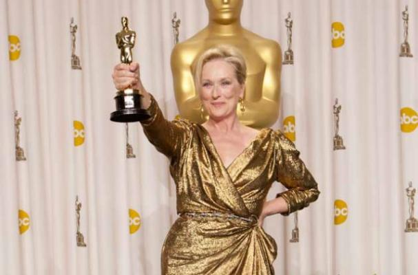 Meryl Streep Celebrates her Oscar Win with a Burger