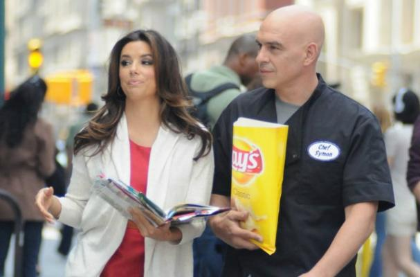 Michael Symon and Eva Longoria Star in Lay's Commercial