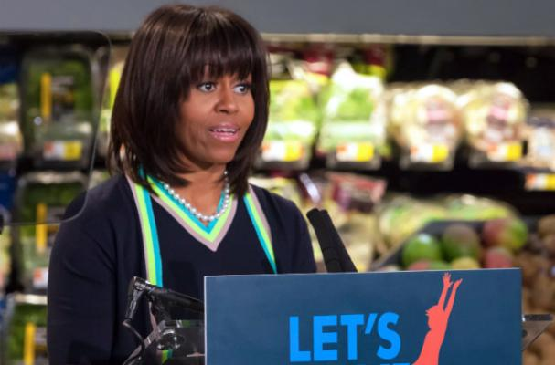 First Lady Urges the Food Industry to Continue Getting Healthier