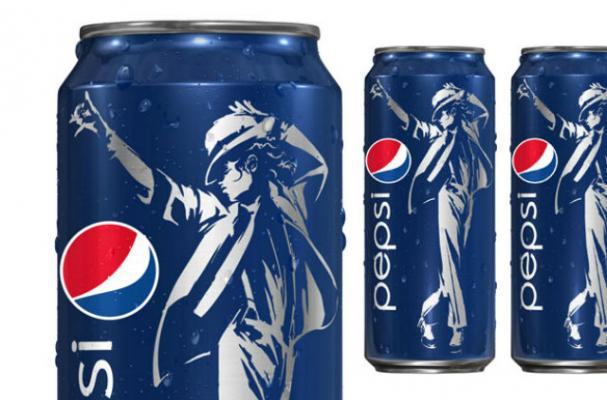 Pepsi Launches Michael Jackson Promotion