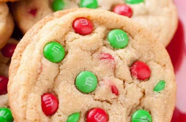 Foodista Easy Christmas M M Cookies