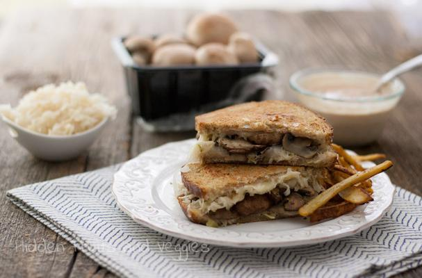 Foodista   Mushroom Reuben and More Meatless Sandwiches