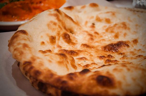 Foodista How To Recipe Garlic Butter Naan