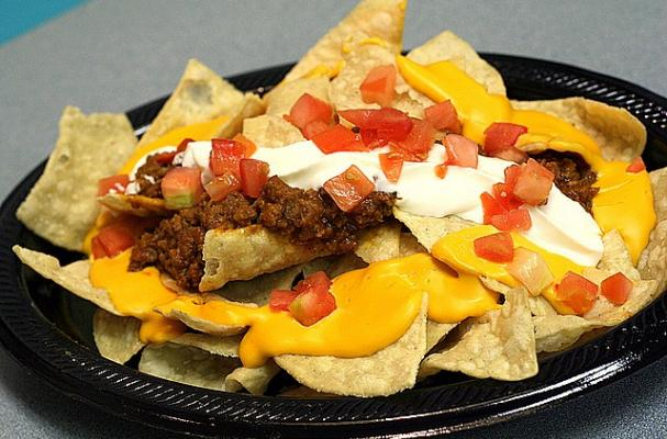 Foodista | Super Easy Superbowl Nachos