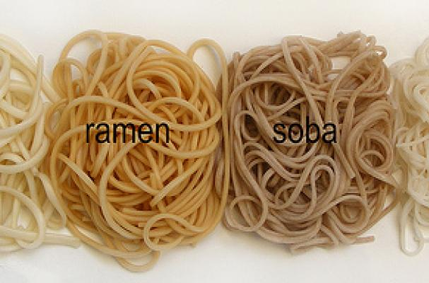 Types of southeast asian noodles