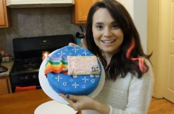 Foodie Geek: Nyan Cat Cake