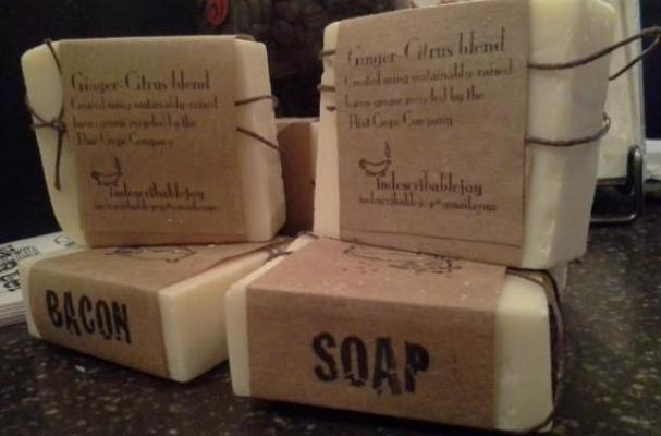 The Flint Crepe Co. Bacon Soap
