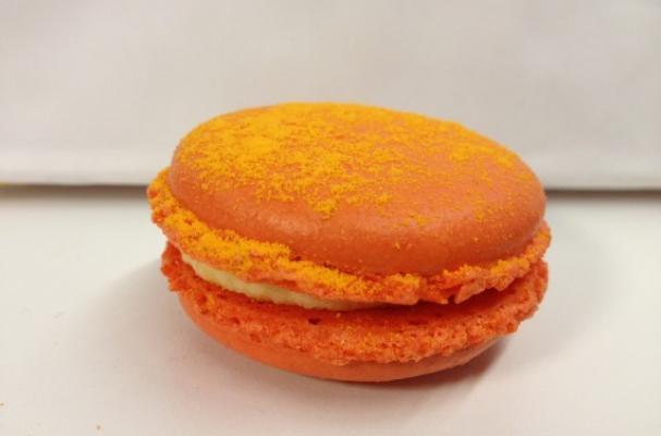 Cheetos-Flavored Macaron
