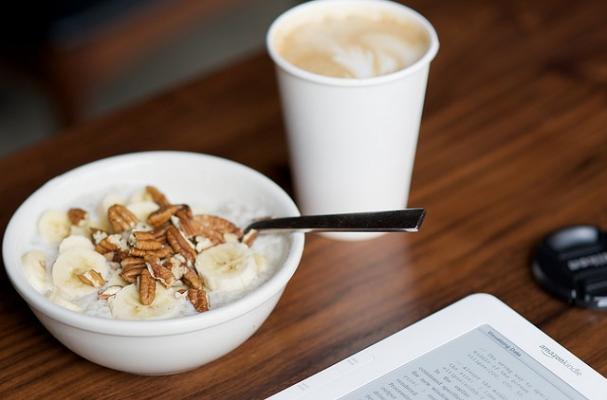 oatmeal + latte, breakfast of champions