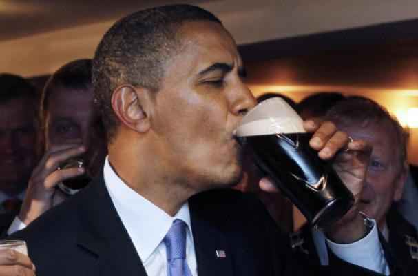A Bottle of Obama Beer Auctions for $1,200
