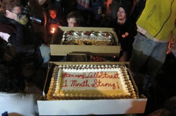 Occupy Cake
