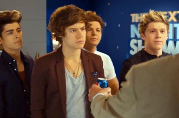 One Direction Star in New Pepsi Commercial