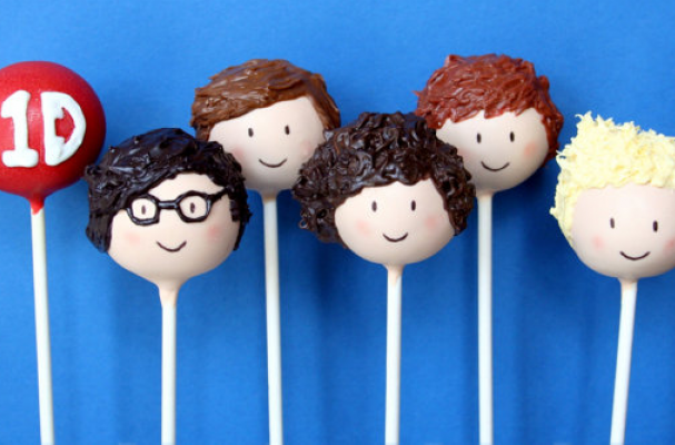 Foodista One Direction Cake Pops Will Light Up Your
