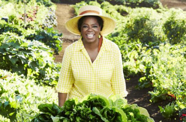 Oprah to Launch Her Own Line of Organic Produce