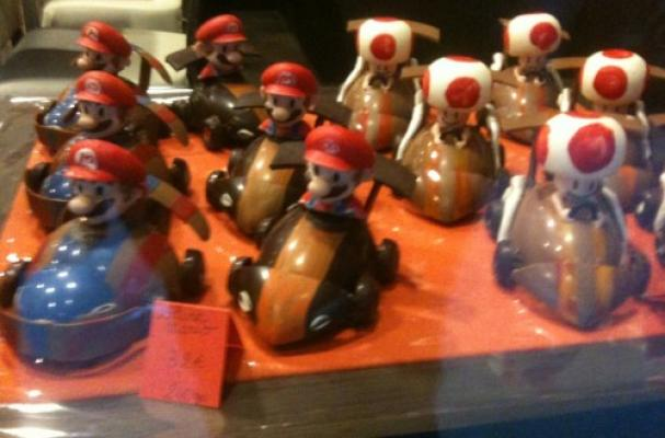 Chocolate Mario Karts