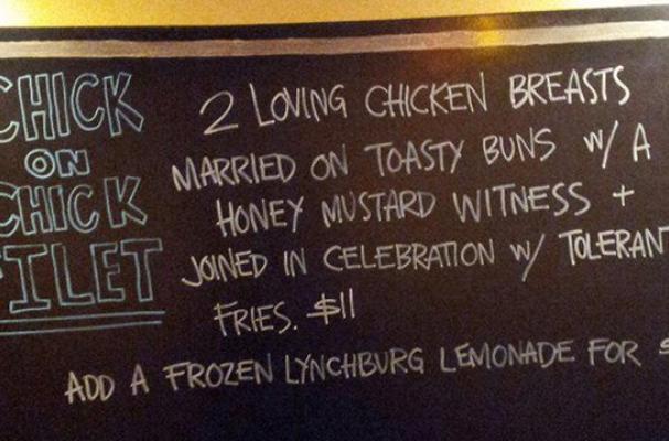 Chick-on-Chick Sandwich