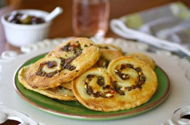 Savory Olive and Goat Cheese Palmiers