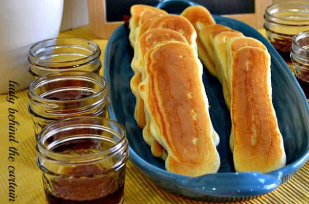Sweet and Savoury Pancake Dippers