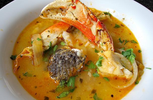 Parihuela (Peruvian Seafood Soup)