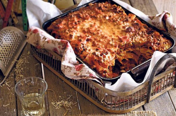 Around the World: Sicilian Pasta al Forno