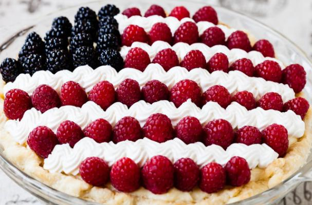 Celebrate the Fourth of July With Patriotic Pie