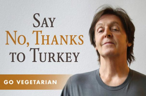 Paul McCartney Wants You to Have a Turkey-Less Thanksgiving