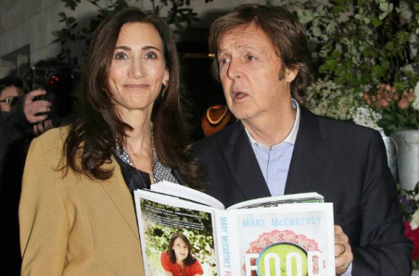 Paul McCartney Attends Launch of Daughter's Book 'Food'