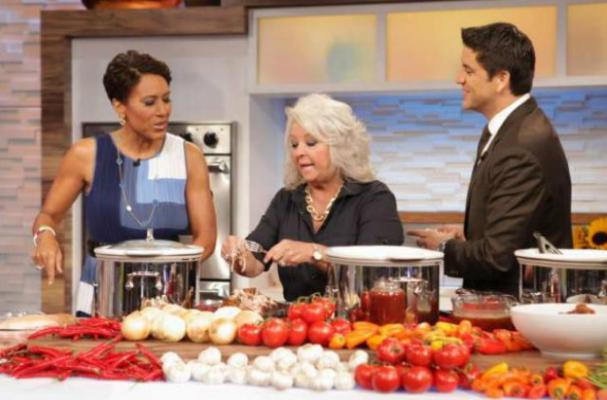 Paula Deen Shares Light Recipes on Good Morning America