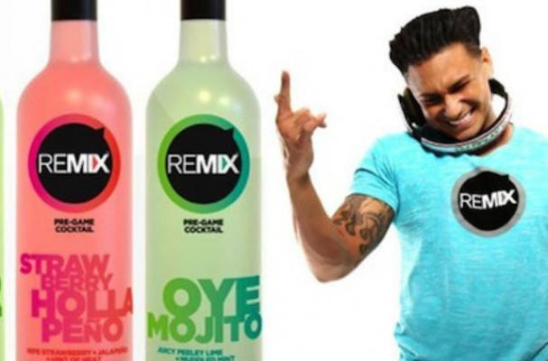 Pauly D Launches REMIX Cocktail