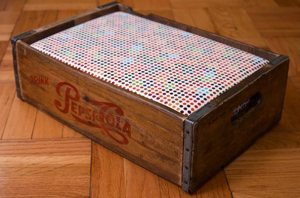 soda crate pet beds