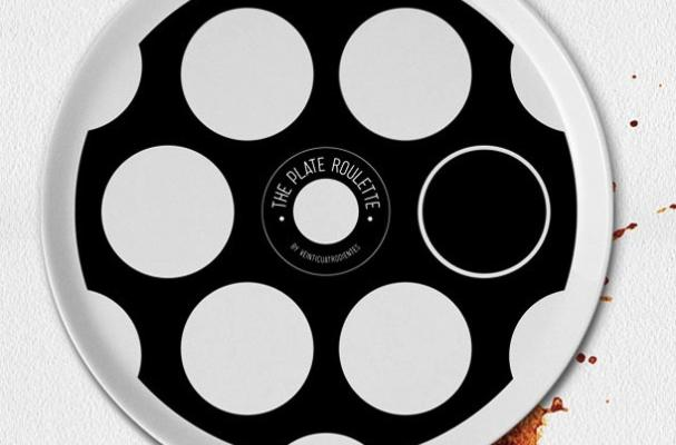 Pizza Roulette Plate