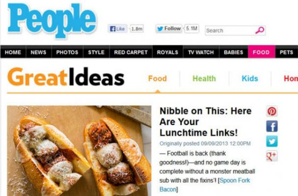 People Magazine Launches Food App and Channel